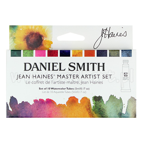 Daniel Smith Jean Haines master akwarela 10x5ml tuba