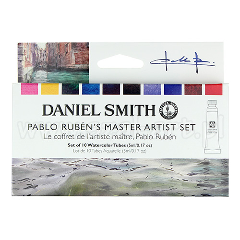 Daniel Smith Pablo Rubens master artist akwarela 10x5ml tuba