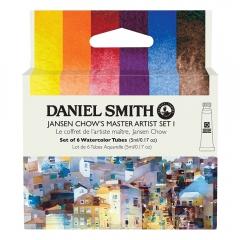 Daniel Smith Jansen Chows master artist set I akwarela 6x5ml