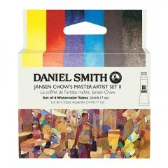 Daniel Smith Jansen Chows master artist set II akwarela 6x5ml