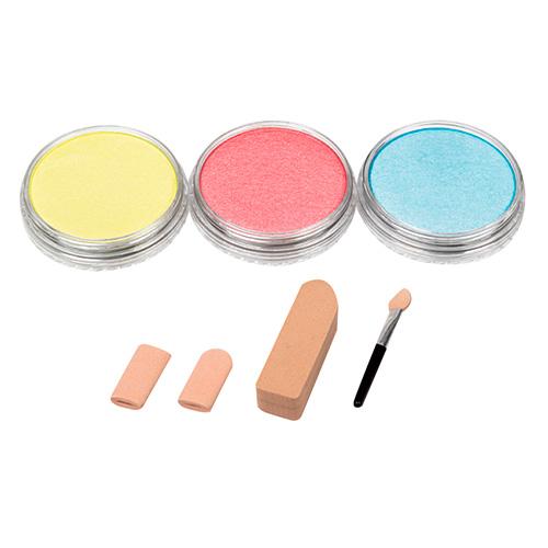PanPastel pearlescent primary zestaw 3 kolorów pasteli suchych