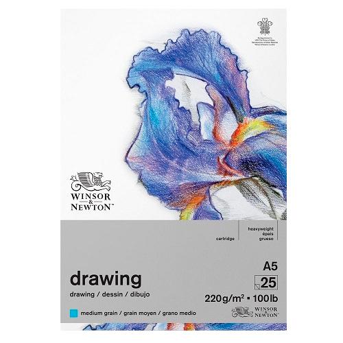 Blok Winsor&Newton drawing medium 220g 25ark