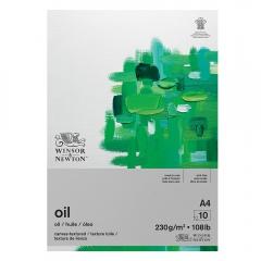 Blok Winsor&Newton do farb olejnych 230g 10ark