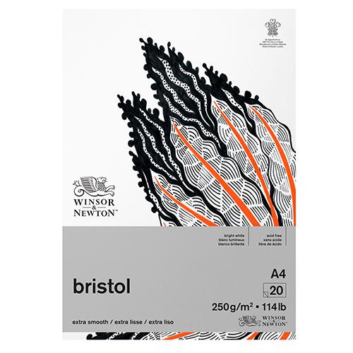 Blok Winsor&Newton bristol 250g 20ark