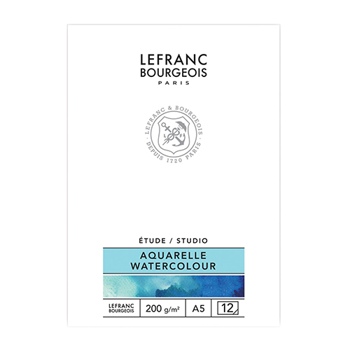 Blok Lefranc&Bourgeois studio aquarell do akwareli 200g 12ark