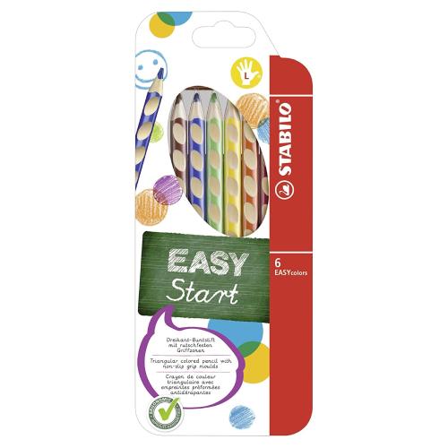 Stabilo easycolors zestaw 6 kredek dla leworęcznych