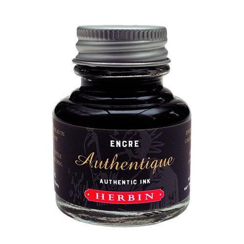Herbin authentic tusz czarny 30 ml