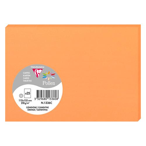 Clairefontaine pollen papier 110x155 210g 25 arkuszy