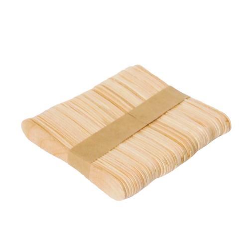 Patyczki drewniane taliowane 50 sztuk