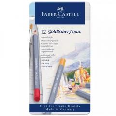 Faber-Catell goldfaber aqua zestaw 12 kredek akwarelowych