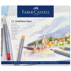 Faber-Catell goldfaber aqua zestaw 24 kredek akwarelowych