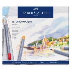 Faber-Catell goldfaber aqua zestaw 48 kredek akwarelowych