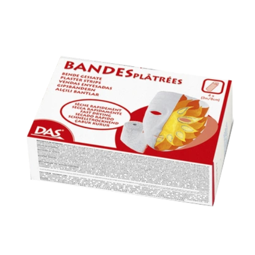 DAS Plaster bandages 4 pieces 3cm x 8cm