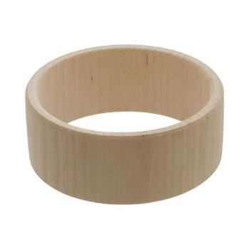 Drewniana bransoleta prosta 30mm