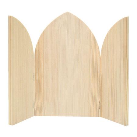 Drewniana ikona otwierana 24,5x15cm