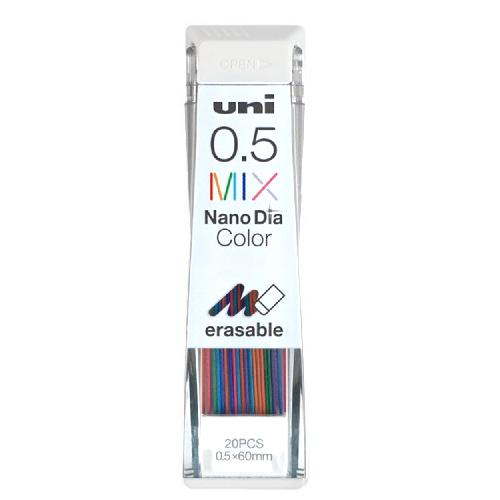 Uni nano dia color kolorowe wkłady do ołówków automatycznych