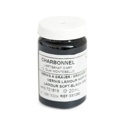 Charbonnel lamour soft black ground 20ml