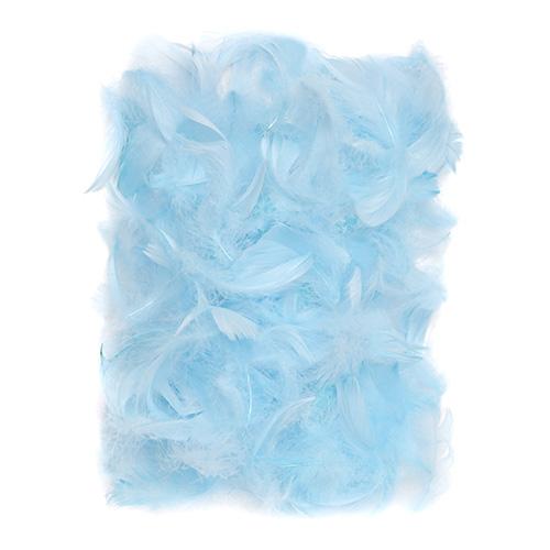 Piórka niebieskie 5-12cm 10g