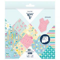 Clairefontaine origami california 10x10,15x15,20x20 70g 60ark