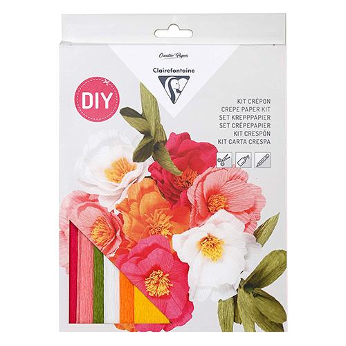 Clairefontaine bunch of flowers zestaw kreatywny