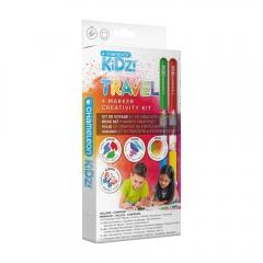 Chameleon kidz travel 4 color creativity kit