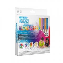 Chameleon kidz blend & spray 10 color creativity kit