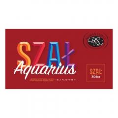 Szmal aquarius zestaw 12 akwareli w kostce SZAŁ