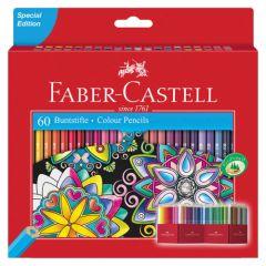 Faber-Castell kredki ołówkowe zestaw 60 sztuk