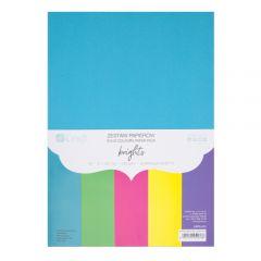 DP Craft zestaw papierów jasne kolory A4 220g 20 arkuszy