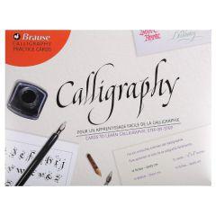 Brause zestaw kart do nauki caligrafii 12 arkuszy 32x25cm