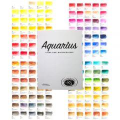 Roman Szmal Aquarius watercolor wzornik palety kolorów 165 kolorów