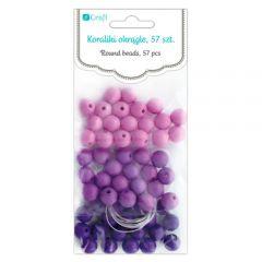 DP Craft koraliki okrągłe berry 57 sztuk